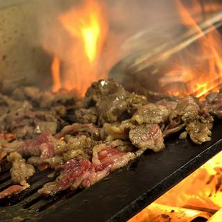 厳選されたお肉を使用しております。