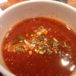 43890985 - つけ麺のつけだれは、味噌を選びました。