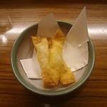 蔵とも - チーズ&ベーコン包揚げ330円