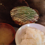 43893913 - ごはんと味噌汁も〜(^ー.゜)ノ