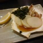 味春 - ホタテ焼き(¥750)