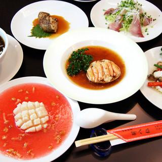 生食できる新鮮な食材で海鮮料理をお作りします