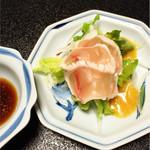 豆狸 - カジキの炙りポン酢