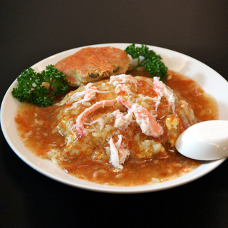 金沢でしか食べられない石川県の魚介類を織り混ぜた独自の中華。