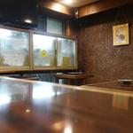 朝松庵 - テーブル席