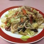 まるちょんラーメン - 野菜炒め