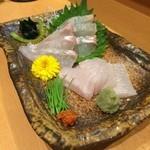 すし 天ぷら め組 - 料理写真:ひらめ えんがわもボリュームあって旨し!ポン酢と醤油で召し上がれ☆