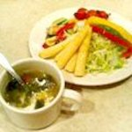 シズラー - スープ&サラダ