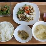 中華料理 真 - 日替りランチ850円