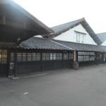 芳香亭 - 裏に続く山居倉庫は今も現役でJAが御使用