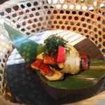 芳香亭 - 鰻の茄子包み