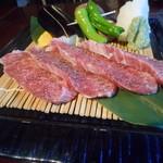芳香亭 - 山形牛の鞍下