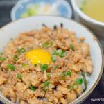 鶏繁 - そぼろ丼(小)【2015年10月】