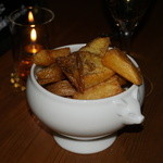 Xató burrata & steak - トリュフの香りのするポテト