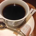 小川珈琲 - オーガニックハウスブレンドコーヒー  スティックシュガーが二本添えられてくるのは京都流?