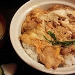 鳥伴 - ランチの名古屋コーチンの親子丼