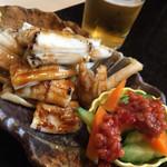 寿司 真之助 - 穴子のアテ