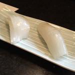 寿司 真之助 - 烏賊