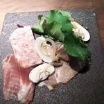 レストラン・カワサキ - 自家製シャルキュトリー