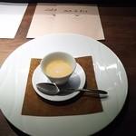 レストラン・カワサキ - バターナッツ(冷製ポタージュ)