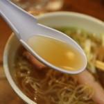 43906297 - 琥珀色のスープ 動物系の油脂は皆無