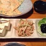 沖縄料理 舞天 - 珍味盛り合せ