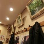 浅野屋 - どなたの油絵でしょうか?