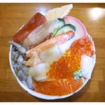 大山屋 - 「ランチ海鮮丼」(2015.01)