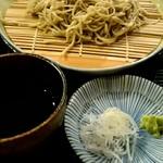 角壱 - 十割蕎麦『せいろ』¥700-