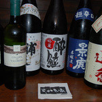 さかえ家 - 日本酒、ワインも豊富にございます。