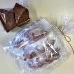 田舎バウム ふくる - 料理写真:くろべ山(ハーフカット・簡易包装)& ソフトショコラ(小型カット・簡易包装)(2015年10月)
