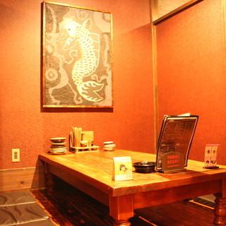 雰囲気も抜群!癒しの和空間でお食事はいかがですか?