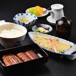 白焼・蒲焼定食