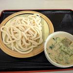 鴻巣うどん てらや - 【別館】冷汁うどん(並):400円