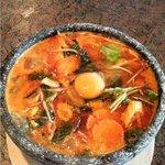 焼肉つかさ苑 - 料理写真:石焼テグタンうどん