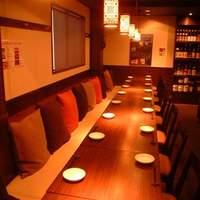 炎麻堂 - 店内はゆったり50席!ご宴会にもご利用頂けます。