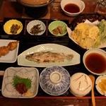 馬籠茶屋 - 料理写真:夕食_1