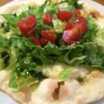 野山の食堂 - サラダ
