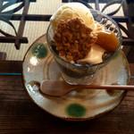 cafe 紅 - 紅パフェ・600円