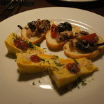 Largo - 料理写真:前菜2種盛