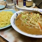 弥生亭 - 味噌つけ麺です!(2015.10)
