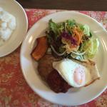 カフェ アール - 料理写真:ハンバーグランチ