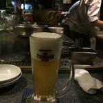 シャンウェイ - 最初の生ビール♡