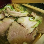 香娘めん - チャーシュー麺のチャーシュー