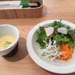 楽猫 - サラダとスープ