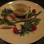 サルーテ - 県産野菜のバーニャカウダー