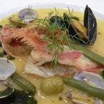 レストラン 客宝館 - 先日行ったときのランチ、メインのお魚料理です!