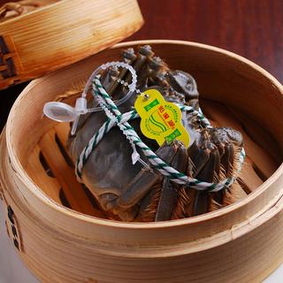 陽澄湖産上海蟹あります!