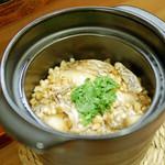 津之守坂 よねやま - 鯛の炊き込みご飯