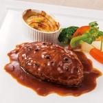 サンマルク - ハンバーグステーキ トリュフソース